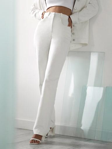 Loose straight-leg jeans