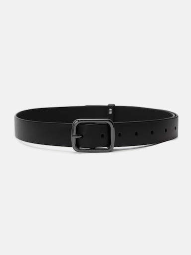 Rectangular-buckle belt